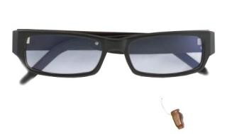 Микронаушник капсула-очки