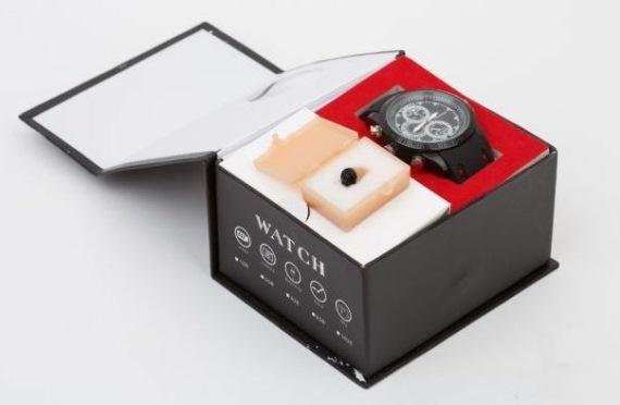 Комплектация часов с микронаушником