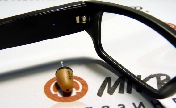 Микронаушник капсула очки: целесообразность использования