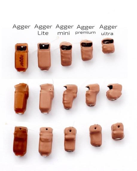 Модели капсульных устройств Agger