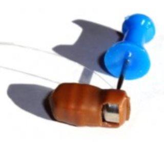 Как извлечь батарейку из микронаушника Студент