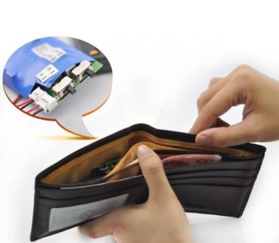 Принцип действия микронаушника с бумажником