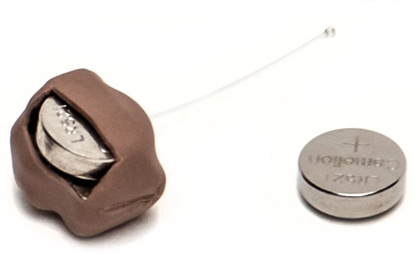 Какого размера капсула нано микронаушника