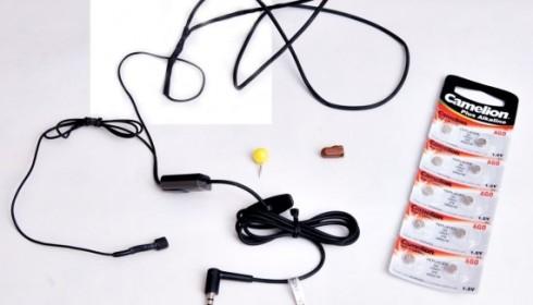 Микронаушники с микрофоном для телефона