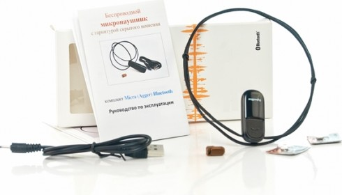 Микронаушники Bluetooth Agger