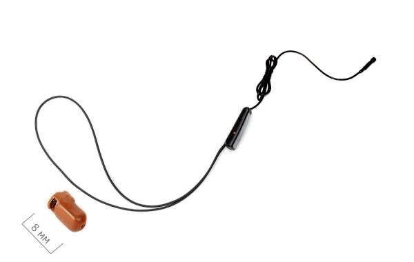 Как подключить микронаушник с выносным микрофоном